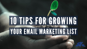 How to grow your email list in 10 simple tips